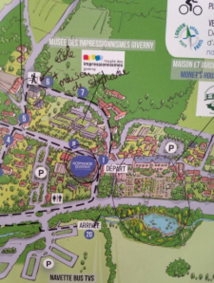 Plan Giverny